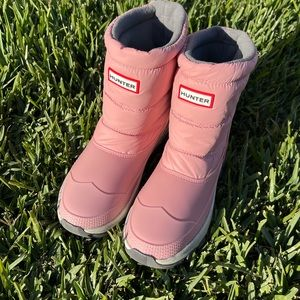 Hunter🎀🎀 Boots Insulated short Snow boots